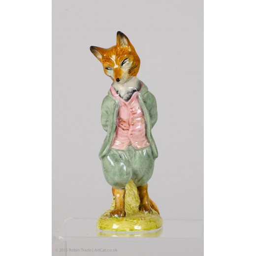 "Beatrix Potter's ""Foxy Whiskered Gentleman"""