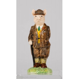 BESWICK Country Folk 'The Gentleman Pig'